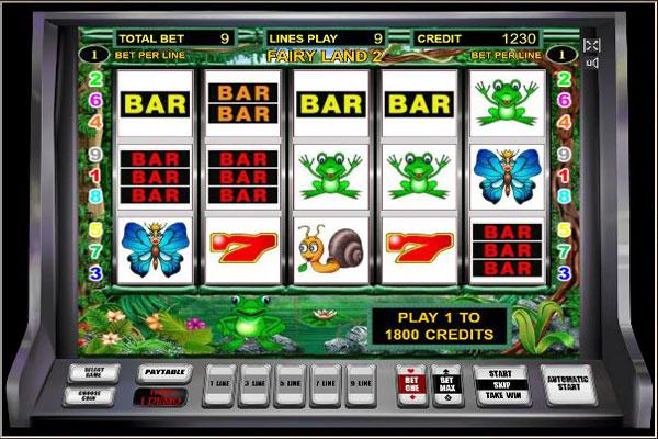 ойын автоматы fairy land 2 дуоматикалық